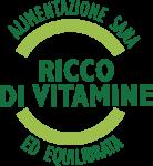 ricco di vitamine